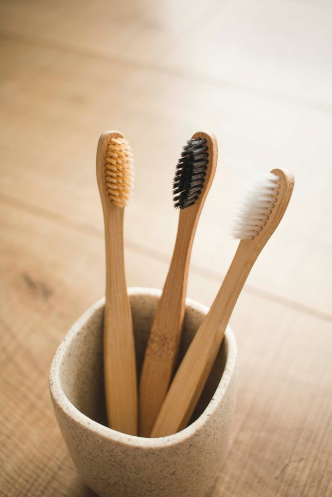 ecofriendly toothbrush from bamboo